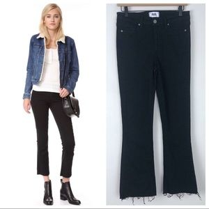 Paige Rory Crop Flare Jeans Size 27